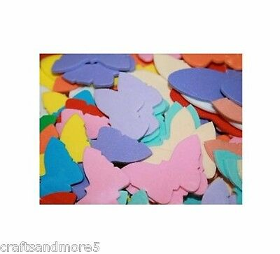 40 Foam Butterfly / Butterflies ~ 37mm to 57mm ~ Various Colours & Sizes