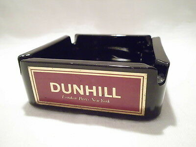 Dunhill Aschenbecher - Schwarz - Ascher - Made in France - 10x10 cm