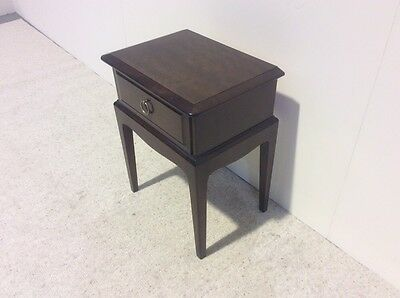 Stag Mahogany Bedside Cabinet Smaller Size Great Value