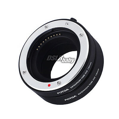 Auto Focus AF Macro Extension Tube Ring 10mm16mm Set for Canon EOS M Mount