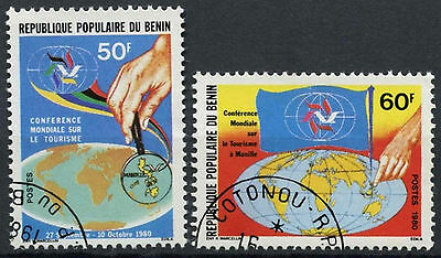 Benin 1980 SG#810-1 World Tourism Conference Cto Used Set #D2412