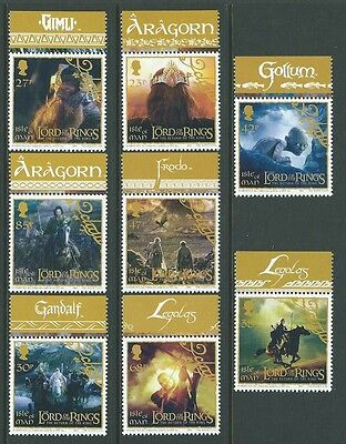 Isle Of Man 2003 Lord Of The Rings Unmounted Mint, Mnh