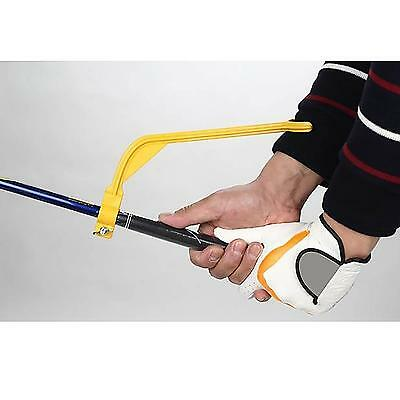 Golf Swing Trainer Practice Guide Alignment Wrist Correct Position Aiding Supply