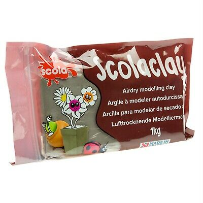 Scola ADC1KG/42 Air Drying Modelling Clay 1Kg