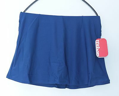 Wilson Performance Rock Funktions-Skirt navyblau, Tennisrock mit Innenhose