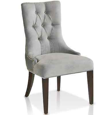 KR-801 Accent Fabric Dining Chair with nail head