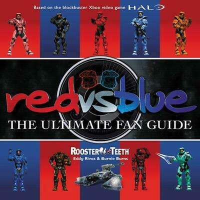 Red Vs. Blue: The Ultimate Fan Guide by Rooster Teeth (English) Paperback Book F