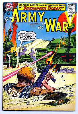 OUR ARMY AT WAR #149 VG, Joe Kubert c/a, Sgt. Rock's Easy Co., DC Comics 1964
