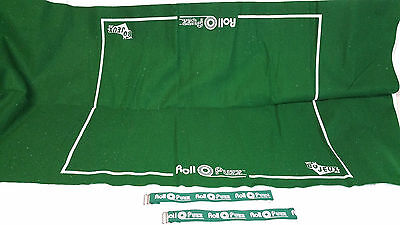 Roll O Puzz Roll-up Green Felt Puzzle Mat 45 x 32 300 1000 Piece Puzzles Gift