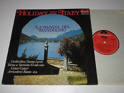 LP/LA BANDA DEL MANDOLINO/HOLIDAY IN ITALY/Polydor 2418 161