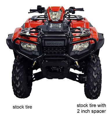Honda Rubicon Dct Irs Eps Atv Trx 500 Over Fenders Flares Mud Guards Custom Fit