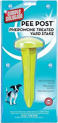 Simple Solution Pee Post Pheromone Treated Yard Stake