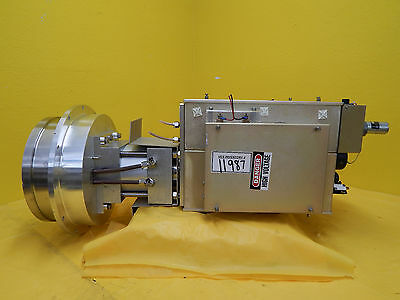 MRC Materials Research A118144 Wafer Chuck RF Cylinder Rev. B Eclipse Star Used