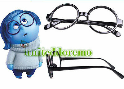 New Movie Inside Out Sadness Cosplay Costume Glasses Cosplay Props 11 Colors