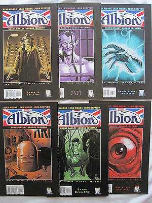 ALBION : COMPLETE CLASSIC 6 ISSUE SERIES by ALAN & LEAH MOORE & REPPION. WS.2005