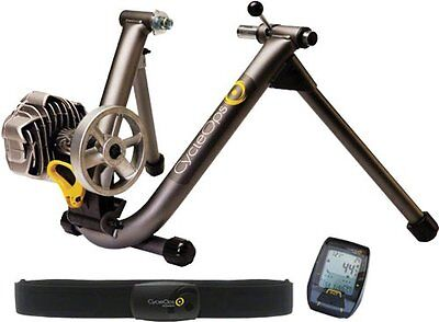 CycleOps Fluid 2 Rear Wheel Cycling Trainer with Power Training Kit New