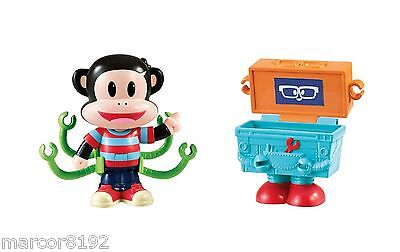 Fisher-Price Julius Jr. Julius Jr. & Tool Box a  Lot Figure W/ Clip on Arms New