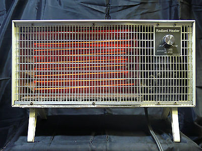 Penncrest Radiant Heater Vintage/Antique Working 1320 Watts Automatic Thermostat