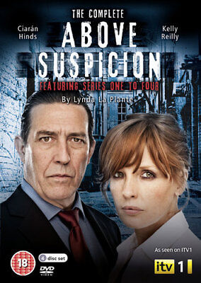 Above Suspicion: Complete Series 1-4 DVD (2013) Kelly Reilly ***NEW***