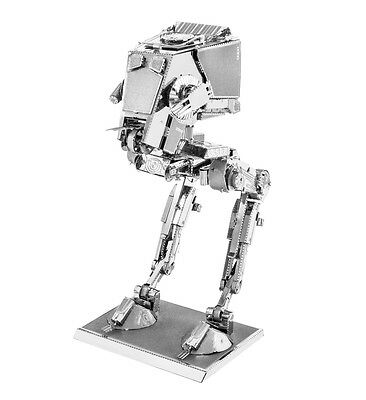 AT-ST Star Wars 3D-Metall-Bausatz Silver-Edition Metal Earth 1261