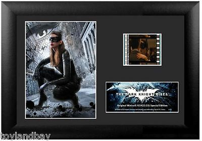 Film Cell Genuine 35mm Framed Matted Batman Dark Knight Rises USFC5922 Catwoman