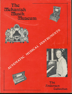 The Mekanisk Musik Museum Review & Catalog - Andersen Collection - 1974 - 87 pp