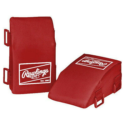 Rawlings Baseball/Softball Catcher's Knee Relievers - Adult - Scarlet