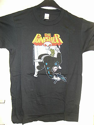 Vintage T-Shirt: Punisher -Nightcrawling (M) (USA, 1988)