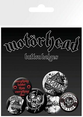 Motörhead Everything Louder Buttons Pack