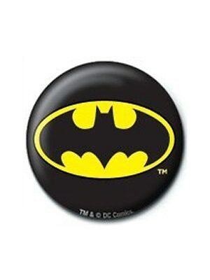 DC Comics Batman Logo Button