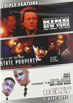 King of New York / State Property / Belly (3 DVD Pack) DVD