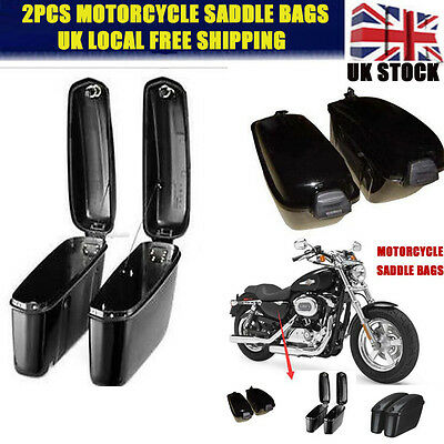 Motorcycle Accessories Trunk Saddlebags Saddle Bags Side Hard Case for Harley 2X