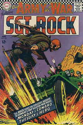 OUR ARMY AT WAR #181 VG, Russ Heath cover and art, Sgt. Rock, DC Comics 1967