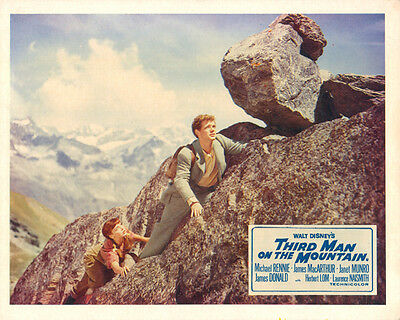 Third Man on the Mountain Original Lobby Card Janet Munro James MacArthur Disney