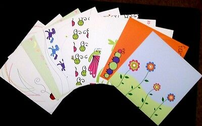 """10 DOUBLE SIDED PAPERS *20cm x 20cm* (8"""" X 8"""") Scrapbooking- Cardmaking"""