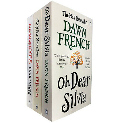 Dawn French Collection 3 Books Set According to Yes, A Tiny Bit Marvellous New