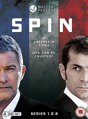 SPIN Stagioni 1-2 Serie Complete BOX 4 DVD in Francese NEW .cp
