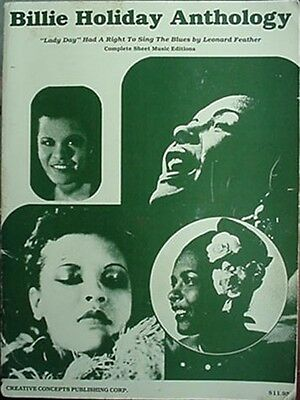 Billie Holiday Songbook, @1986 (Anthology - 44 Selections + Photos