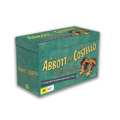 Abbott and Costello: The Deluxe DVD Box Set R4