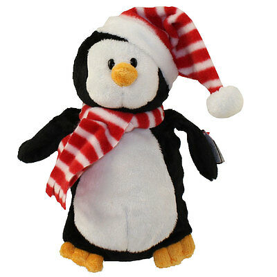 TY Pluffies - NORTH the Snowman (Barnes & Noble Exclusive) (8.5 inch) - MWMTs