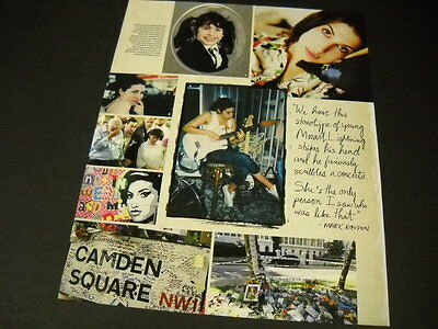 AMY WINEHOUSE collage style PROMO POSTER AD w/ Mark Ronson quote MINT CONDITION