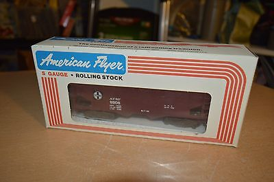 American Flyer S Scale 4-9208 A.T.S.F Covered Hopper NEW IN BOX