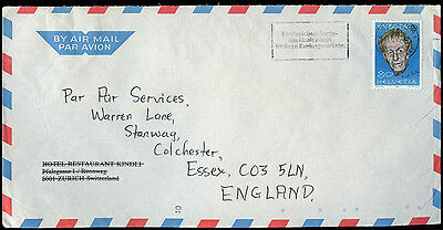 Switzerland 1985 Commercial Air Mail Cover To UK #C31528
