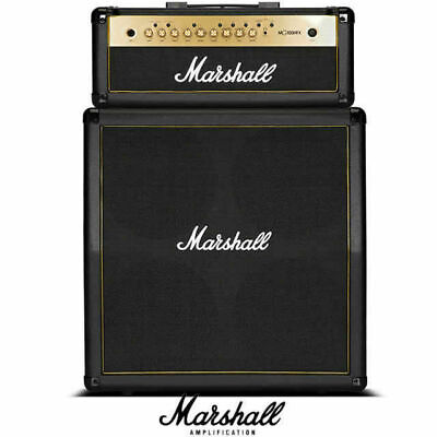 Marshall MG100H GFX Head and MG412 4x12 Gold Quad BoxSpeaker Guitar Amplifier