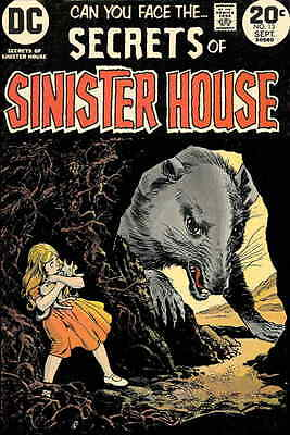 SECRETS OF THE SINISTER HOUSE #16 VG, Horror, DC Comics 1974