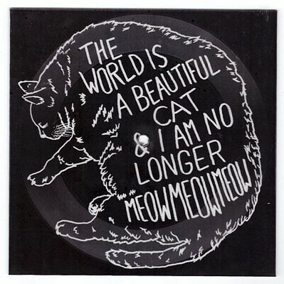 """The World is a Beautiful Place """"Cat"""" Lathe 7"""" OOP TWIABP Tigers Jaw Caspian"""