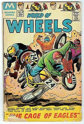 WORLD of WHEELS ~ 1978 Comic Book