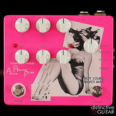 New Dwarfcraft Devices Arf - Attack Release Filter Pedal, Boutique Modulation Fx
