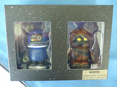 "STAR WARS  Box SET of 2  Disney  3"" VINYLMATION Limited Edition Droid  Jawa  NEW"