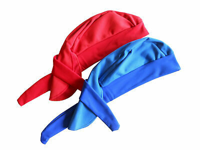 Bandana Windbreak Fleece/Lycra Red or Blue Tie Up GS119